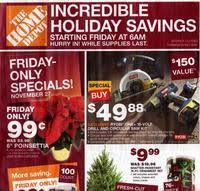 black friday ad home depot 2017 home depot black friday 2017