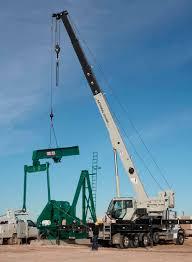 mobile crane boom telescopic lifting national crane nbt55