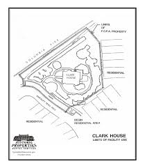 Historic House Floor Plans by Historic Properties Rental Services Clark House Fairfax County