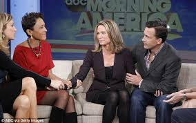 crazy sexy cancer stock fotos und bilder getty images amy robach reveals marriage to andrew shue almost collapsed during