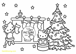fresh christmas coloring pages preschoolers