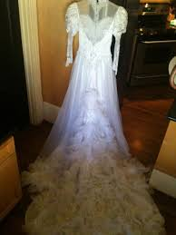 need ideas for evil hamble doll wedding dress costume