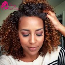 ombre crochet hairstyles malaysian curly hair ombre human hair weave two tone 1b 30 virgin