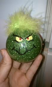 diy grinch ornament i will make this