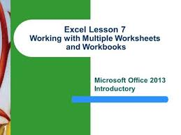 excel object model ppt download