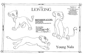 art models the lion king 1994 character nala