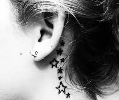 cover tattoo behind your ear top 15 cute and tiny ear tattoos with images styles at life