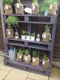 Diy Vertical Pallet Garden - pallet herb garden is the solution for limited space