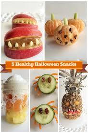 5 simple healthy halloween treats