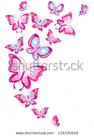 repeated pattern flower and butterfly free vector 26 604