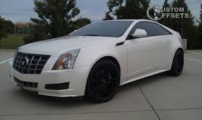 2008 cadillac cts performance wheel offset 2011 cadillac cts flush stock custom rims