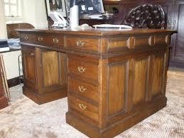 Polished Oak Desk Bespoke Items Distinctive Country Furniture Limited Makers Of