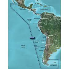 Map Of Caribbean Islands And South America by Amazon Com Garmin Bluechart G2 Hxsa002r South America West Coast
