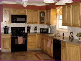 kitchen color ideas with oak cabinets and black appliances gorgeous kitchens with black appliances design and ideas