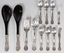 Unique Silverware by Decorating Antique Pattern Reed And Barton Sterling For Unique