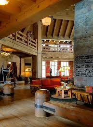Lodge Interior Design by Timberline Lodge The Quintessential American Alpine Lodge Part