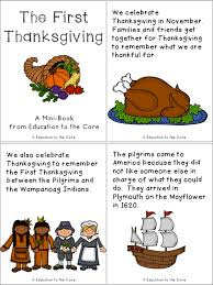 printable thanksgiving pages from books for grade happy