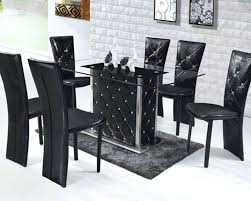 6 pc dinette kitchen dining room set table w 4 wood chair round kitchen table sets for 6 piece dinette adorable glass and