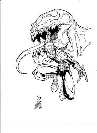 coloring pages spiderman venom coloring pages mycoloring free