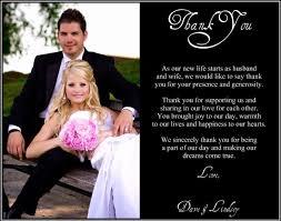 wedding thank you wedding thank you note best 25 wedding thank you wording ideas on