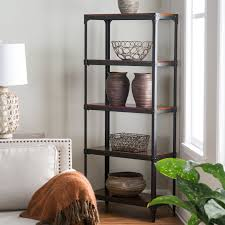Narrow Bookcase Espresso by Belham Living Trenton 6 Cube Narrow Bookcase Hayneedle