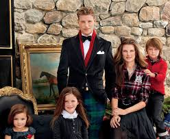 gorgeous holiday portrait of the ralph lauren holiday collection