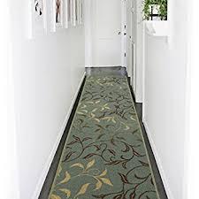Hallway Rug Runner Amazon Com L Shaped Berber Corner Skid Resistant Floor Hallway