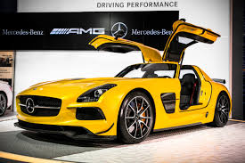 mercedes usa amg sls amg black series product manager walk around mercedes