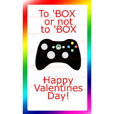 xbox cards xbox valentines cards for 5 00 valentines day cards