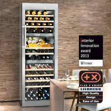 liebherr freestanding triple zone wine cellar w dimmable led