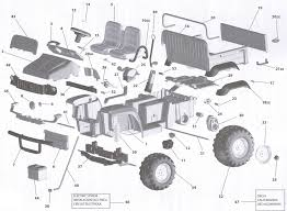john deere gator hpx part diagram