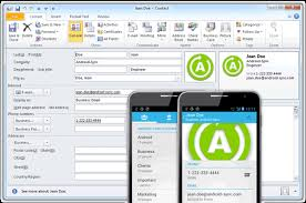 contact sync android features android sync sync android with outlook via usb