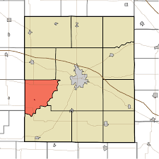 Zip Code Map Indiana by Ripley Township Montgomery County Indiana Wikipedia