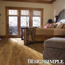 Laminate Floor Bedroom Falling For Brown Decor