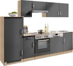 K Henzeile Neu G Stig Küchenzeile Held Möbel Melbourne Breite 270 Cm Mit E Geräten