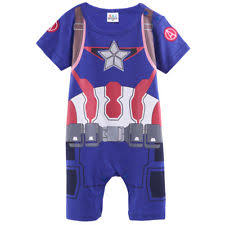 Infant Boy Halloween Costumes 6 9 Months Baby Boys Captain America Costume Romper Infant Onesie Playsuit
