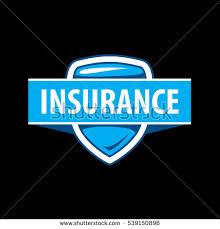 vector logo template insurance company stock vector 539150896