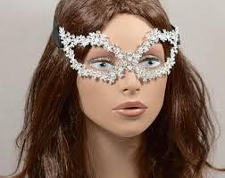 rhinestone masquerade masks rhinestone masks etsy