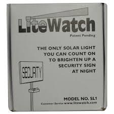 light up address sign 10 lite watch solar powered night light security address sign led