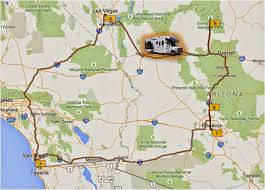 Phoenix Road Map by Planning Our First Us Road Trip Grand Canyon Or Bust Aussie Pete