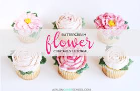 how to make a cake how to make buttercream flower cupcakes avalon cakes
