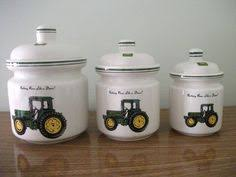 deere kitchen canisters deere dishes deere dishes kitchens and