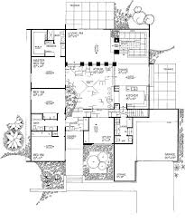 courtyard plans small house plans with courtyard home design