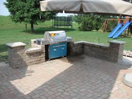 kitchen patio ideas exterior lovely outdoor kitchen patio design ideas using blue