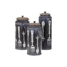 decorative canister sets kitchen stonebriar collection fluted glass canister with decorative lid sb