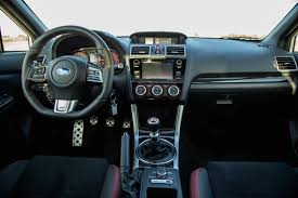 subaru wrx interior 2017 review 2016 subaru wrx sti sport package canadian auto review