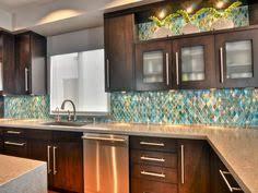 Fine Looking Sea Glass Tile Backsplash Kitchen Pinterest - Sea glass backsplash