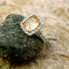 stone wedding rings images 27 non diamond engagement rings that sparkle just as bright jpg