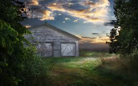 country old country barn wallpaper surreal country scene