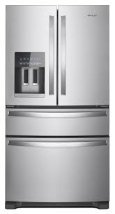 Whirlpool French Door Counter Depth Whirlpool Stainless French Door Refrigerator Wrx735sdhz